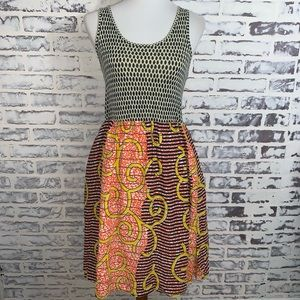 Porridge Anthropologie Sleeveless Dress Sz L Silk